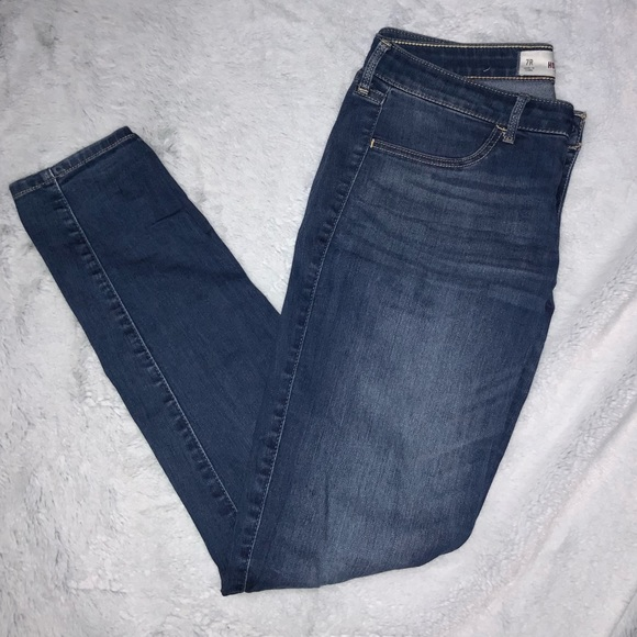 Hollister Denim - hollister skinny jeans - medium wash